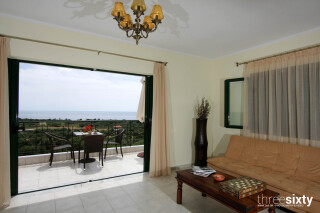 First Floor Suite sarantos pool sea view
