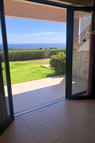 big garden suite sarantos pool sea view