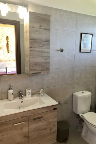 garden suites sarantos pool bathroom amenities