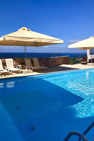 pool bar sarantos pool suites pool area
