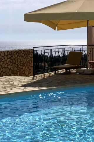 pool bar sarantos pool suites view